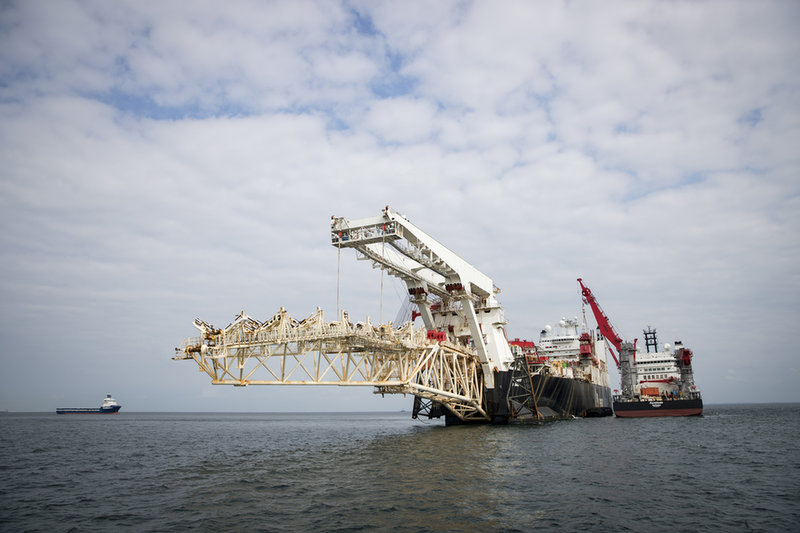 Surveying The Baltic Sea For Nord Stream 2